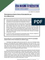 16. Inflasi Manokwari April 2010