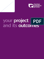 Your project and its outcomes (Cupitt 2007)