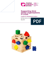 Supporting third sector organisations in crisis