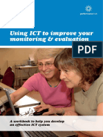 Using ICT to improve your monitoring & evaluation