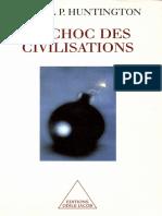 Huntington Phillips Samuel - Le Choc des Civilisations.pdf