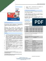 Ft Concolor Junta Estrecha 080416 Technical Sheet 993051001