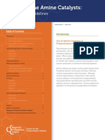 Polyurethane Amine Catalysts Guidelines for Safe Handling Amp; Disposal English