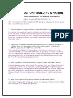 unit reflection building a nation