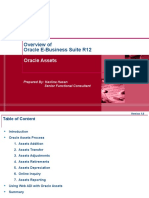R12 Oracle Assets Overview 29112016