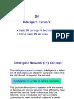 Gsm Intelligent Network