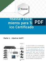 Presentación de Certificación Yeastar