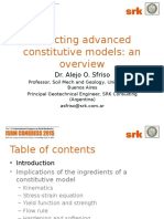 2015 ISRM - Selecting Advanced Constitutive Models
