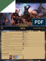 3D&T Alpha - League of Legends RPG (Versão Beta) - Biblioteca Élfica
