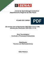 Plano de Curso - Ct Eletroeletronica - 1500h