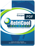 Manual Corporativo Refricool