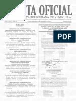 Gaceta Oficial Nº 41.037 - Notilogía