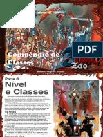 3D&TZão Classes e Nível