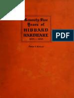 Seventy Five Years of Hibbard Hardware, 1853-1930