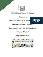 Proyecto Jornada Día Del Estudiante