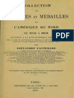 Collection de monnaies et médailles de l'Amérique du Nord de 1652 à 1858 / par Alexandre Vattemare
