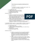 Ejercicios Propuestos Para 2do Examen de Perforación II