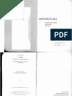 S. Gideion, Prostor, Vreme, Arhitektura