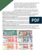 Billetes y Monedas de Guatemala