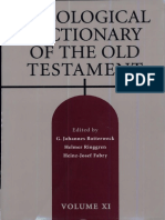 Theological Dictionary of the Old Testament 11