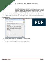 Step by Step Meng-Install SQL Server 2005