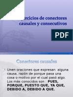 Conectores Causal Consecuencia