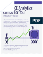 eBook ACL Analytics Software ROI Survey Results
