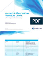 Internet Authentication Procedure Guide