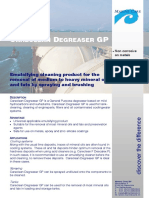 Pds Careclean Degreser Gp