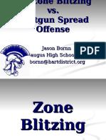 3-4 Attack Defense 2 Zone Blitz