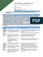 YA FCC - Planificación Unidad 3 - 3er Grado