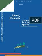 Ahorro, Eficiencia Energética y Estructura de La Explotación Agrícola