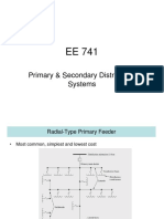 EE 741-Primary & Secondary Systems