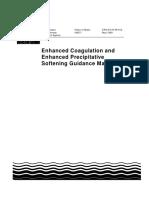 Enhanced Coagulation and Enhanced Precipitative Softening Guidance Manual