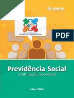Previdencia Social Contribuicao Ao Debate 01-06-2016 2016set Reforma Da Previdencia Livro