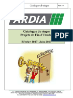 Ardia Catalogue Stages Fev-juin 2017 V