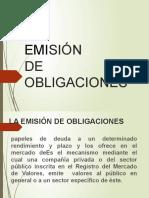 Grupo 8 - Emision de Obligaciones