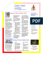 June Healthy Child Newsletter