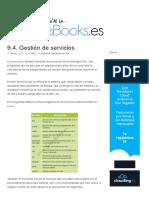 9.4. Gestión de Servicios - SomeBooks