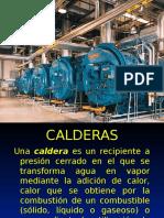 Presentacion No. 2 Calderas y Tipos