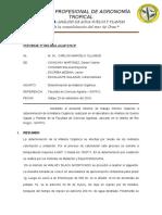 INFORME Nº 001 Determinacion de Materia Orgánica