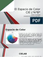 El Espacio de Color CIE L