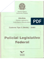 Fgv 2012 Senado Federal Policial Legislativo Federal Prova
