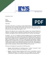 Home Services Program Overtime Bill Response Letter
