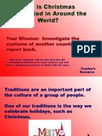 Presentacion de Navidad