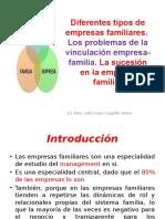 5QUINTA CLASE-Diferentes Tipos de Empresas Familiares