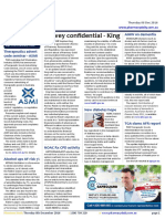 Pharmacy Daily for Thu 08 Dec 2016 - Survey confidential - King, Pharmacist house calls, NOAC Rx CPD activity, Travel Specials and much more