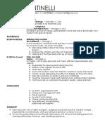 milan antinelli resume 1