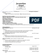 updated resume without addresses