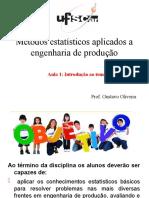 Apostila Metodos Estatisticos 2016